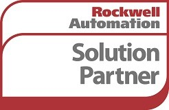Rockwell Automation solution partner logo.