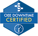 OEE downtime certified